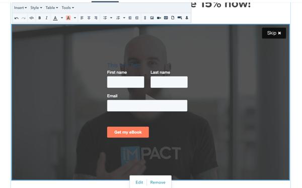 HubSpot Video Forms